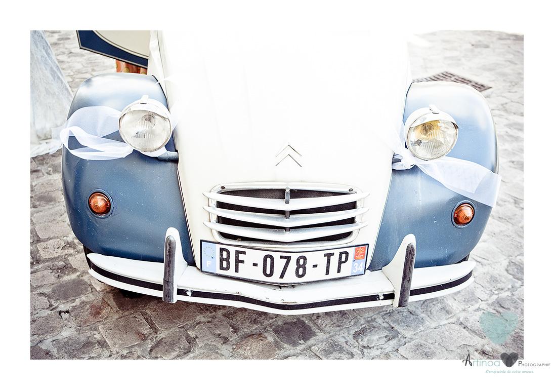 voiture louée pour un mariage